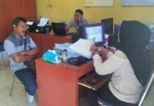 Ketua IWO (Ikatan Wartawan Online) Provinsi Aceh, Muhammad Abubakar saat diperiksa Penyidik Tipidter Sat Reskrim Polres Langsa sebagai saksi Laporan Pidana Terhadap Walikota Langsa yang sudah cukup bukti. Foto Istimewa/IWO