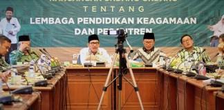 H Robikhin Emhas saat acara Focus Discussing Group di Gedung PBNU, Kramat Raya selasa (24/10/2017). Foto Panitia FGD/ NusantaraNews