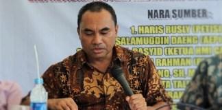 Haris Rusli (Tengah)/Foto Ahmad Hatim / NUSANTARAnews