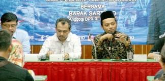 Kegiatan Sekolah politik (Foto Nurcholis/Nusantaranews)