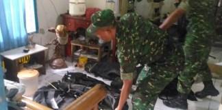Kodim 0506/Tangerang Gerebek Rumah Terduga Teroris Bersenjata Banyak (Foto Istimewa/Nusantaranews)