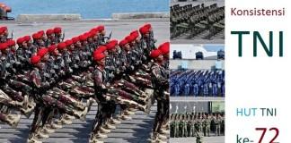 Konsistensi TNI di Hari Ulang Tahunnya ke-72 (Ilustrasi) Foto Crop: NNCart