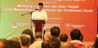 Menag Lukman Hakim saat Dialog Islam dan Khonghucu (Foto Andika/Nusantaranews)