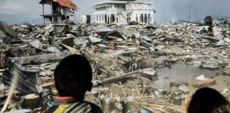 Pameran Foto 10 Tahun Tsunami Aceh. Foto Tribunnews