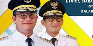 Pelantikan Gubernur DKI Baru Anies-Sandi (Foto Istimewa)