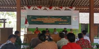 Penyuluhan penanggulangan bencana alam di Kabupaten Ngawi, Jawa Timur. (Foto: Wahyu/NusantaraNews)