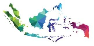 Peta Politik Ideologis Indonesia (Ilustrasi Peta Berwarna). Istimewa