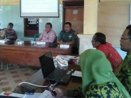 Rakor Tanam Serentak di Widang (Foto: Penrem/Nusantaranews)