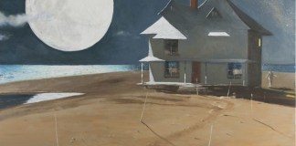 The House of an American Poet, 2012, by Julio Larraz - Art/Photography (Foto: Pinterest)