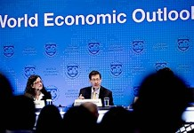 Pertemuan World Economic Outlook/Foto Getty Images