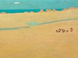 Panen, karya Nasjah Djamin, (-). Foto: Artnet