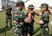 Personel TNI di jajaran Korem 082/CPYJ untuk terus melakukan berbagai macam cara dalam mengantisipasi terjadinya bencana alam di wilayah tugasnya. Foto: Dok. Penrem