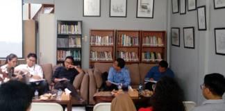 Lembaga survei Populi Center merilis elektabilitas calon presiden (capres) menjelang Pilpres 2019. (Foto: Ricard Andhika/NusantaraNews)