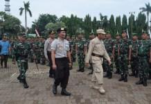 Kodim 0811 Tuban, bersama Badan Penanggulangan Bencana Daerah (BPBD) dan Kepolisian Resort (Polres), siap mengerahkan personel untuk mengantisipasi bencana di wilayah Kabupaten Tuban. Foto: Dok. Penrem