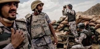 Tentara Arab Saudi di Yaman. Foto: Tomas Munita/New York Times
