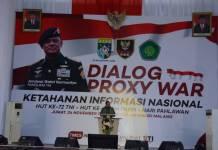 Panglima TNI Jenderal Gatot Nurmantyo berkunjung ke UIN Maulana Malik Ibrahim Malang pada 24 November 2017. Foto: Dok. Pendam