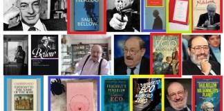 Buku Bestseller Saul Bellow dan Umberto Eco. Ilustrasi/Foto Crop by Google Images/NusantaraNews