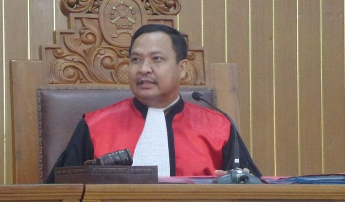 Hakim Kusno, Hakim Sidang Praperadilan Setnov Jilid II. Foto: Dok. Kompas