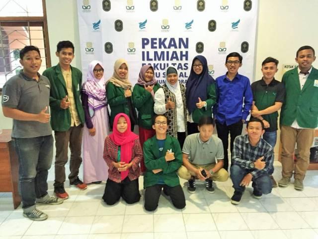 Peserta seminar series bertemakan Yang Muda yang Berkarya dan Berprestasi di UIN Sunan Kalijaga Yogyakarta pada Selasa (28/11). Foto: Hendris Abdullah/Istimewa