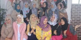 Komunitas Hijab Jogja Dukung Cak Imin Cawapres 2019 (Foto Istimewa/Nusantaranews.co)