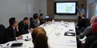 Kunjungan Wakil Ketua BPK Bahrullah ke Australia (Foto Dok. BPK RI)
