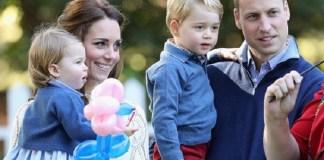 Pangeran William dan Kate Middleton bersama dua anak mereka. (Foto: Getty)