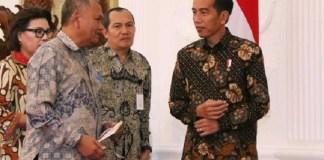 Pempinan KPK saat menemui Presiden Joko Widodo. Foto: Dok. Liputan6