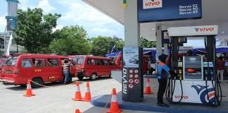 SPBU Vivo, di Cilangkap Jakarta Timur. (Foto: Dery Ridwansyah/Via Jawa Post)