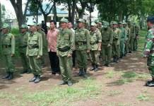 Wasbang Linmas Sukomoro Magetan. Foto Rantelino/ NusantaraNewsWasbang Linmas Sukomoro Magetan. Foto Rantelino/ NusantaraNews