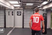 Zlatan Ibrahimovic akan mengenakan nomor punggung 10 di Manchester Unuted saat comeback. Foto: Twitter @Manutd