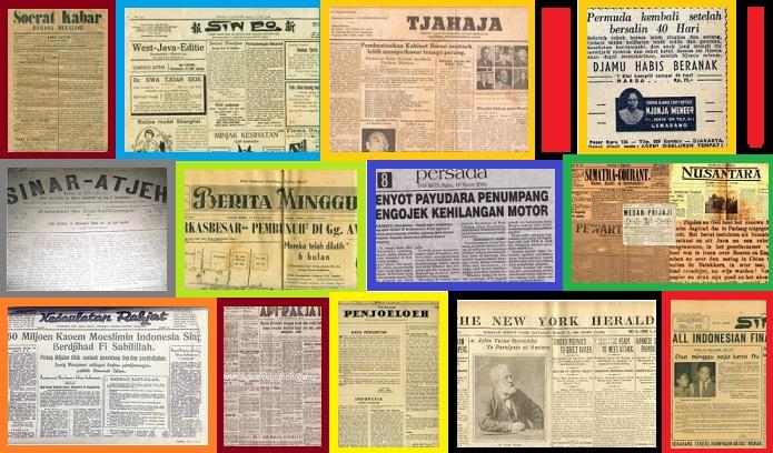 Koran zaman dulu (ilustra). Dok. NusantaraNews.co