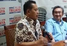 Wakil Ketua Umun DPP Partai Gerindra, Ferry Juliantono. Foto Ucok Al Ayubbi/ NusantaraNews