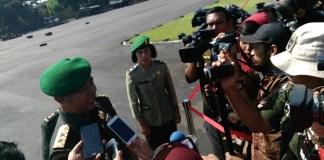 Pangdam V/Brawijaya, Mayjen TNI Arif Rahman di acara Perayaan Hari Juang Kartika (HJK) dan HUT Kodam V/Brawijaya ke-69 tahun di lapangan Makodam V/Brawijaya. Foto: Pendam V/Brawijaya/ NusantaraNews
