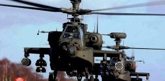 Helikopter serbu Apache (Foto Istimewa)