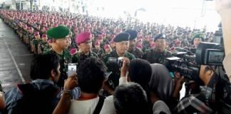 Jenderal Gatot Nurmantyo resmi melepas jabatannya sebagai Panglima TNI. Foto: Yudhie/NusantaraNews
