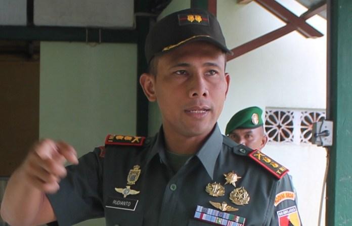 Komandan Kodim 0824 Jember, Letkol Infanteri Rudianto. Foto: NUSANTARANEWS/Sis24