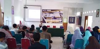 Forum Lingkar Pena (FLP) Wilayah Jawa Tengah, Minggu-Senin (25-26/12/2017) adakan kegiatan upgrading. Foto Agus Yuli/ NusantaraNews