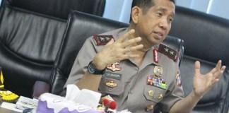 Kapolda Kalimantan Timur (Kaltim) Irjen Pol Safaruddin maju Pilgub Jatim lewat PDI Perjuangan. Foto: Paksi Sandang Prabowo/Kaltim Post/JawaPos.com