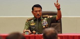 Mantan Panglima TNI Jenderal Moeldoko