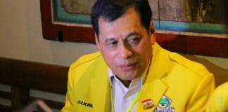 Ketua Harian DPP Partai Golkar Nurdin Halid. Foto: Dok. beritasatu