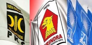 PKS, Gerindra dan PAN sepakat berkoalisi di 5 provinsi hadapi Pilkada Serentak 2018. Foto: Ilustrasi/NUSANTARANEWS