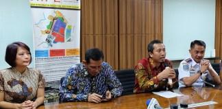 Penandatanganan Perjanjian Konsesi, Otoritas Pelabuhan Kelas II Gresik dengan PT Berlian Manyar Sejahtera serta Pelindo III (Foto Tri Wahyudi/Nusantaranews.co)
