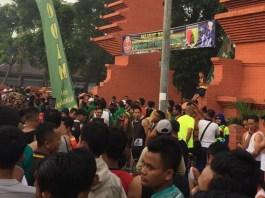 Ribuan Peserta Ramaikan Lomba Lari 10 K (Foto Istimewa/Nusantaranews.co)