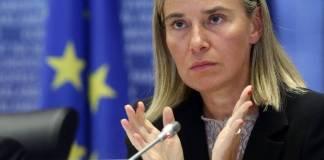 Kepala Diplomat Uni Eropa, Federica Mogherini. Foto: EPA
