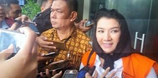 Bupati Kutai Kartanegara non-aktif, Rita Widyasari. (Foto: Restu Fadilah/NusantaraNews)