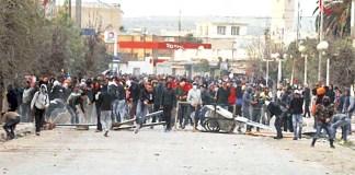 Para Pengunjuk Rasa di Tunisia Yang Menentang Kenaikan Harga dan Pencabutan Subsidi/Foto: sfgate.com