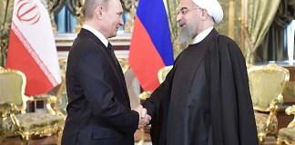 Russian President Vladimir Putin and Iranian President Hassan Rouhani/Foto: rbth.com