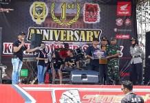 Ribuan bikers dari Kediri maupun dari luar berkumpul di lapangan Gajah Mada dalam rangka Anniversary Kediri Owner Scoopy. Berlangsung pada Minggu (18/2). (Foto: Istimewa)