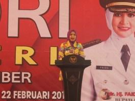 Bupati Jember, Faida MMR. (Foto: Istimewa/NusantaraNews)