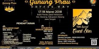 Gunung Prau Coffee Day 2018 - We Proud Of Local Coffee